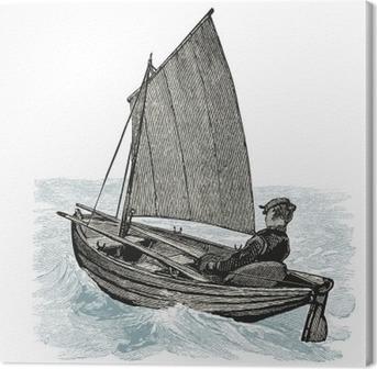 Quadro em Tela Barco à vela