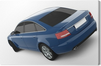 Quadro em Tela Blue Business-Class Car
