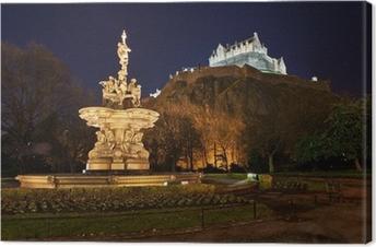 Quadro em Tela Castle in night