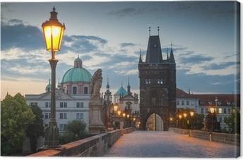 Quadro em Tela Charles Bridge, Prague