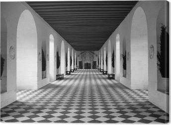 Quadro em Tela checkerboard floor