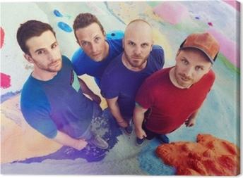 Quadro em Tela Coldplay
