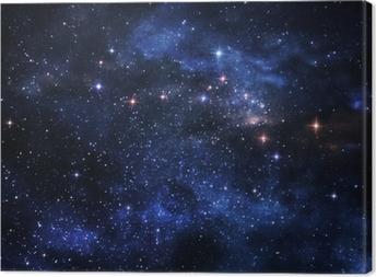 Quadro em Tela Deep space nebulae