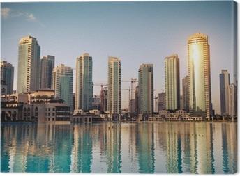 Quadro em Tela Dubaï ville