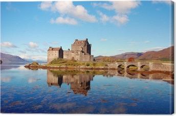 Quadro em Tela Eilean Donan Castle, Highlands, Scotland