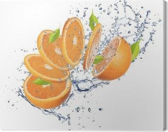 Quadro em Tela Fresh orange