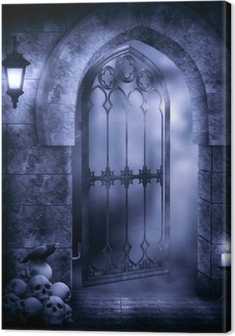 Quadro em Tela Gothic Fantasy