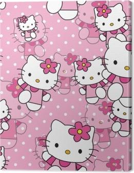 Quadro em Tela Hello Kitty