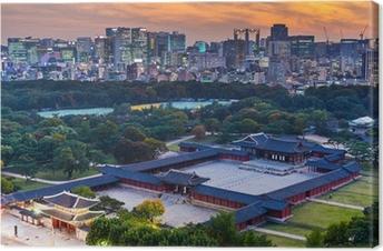 Quadro em Tela Historical grand palace in Seoul city