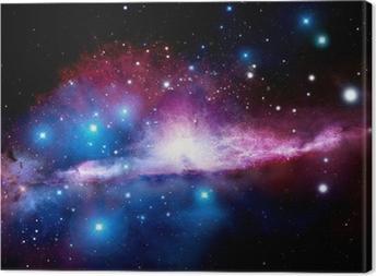 Quadro em Tela Illustration of a nebula