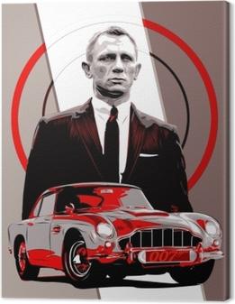 Quadro em Tela James Bond
