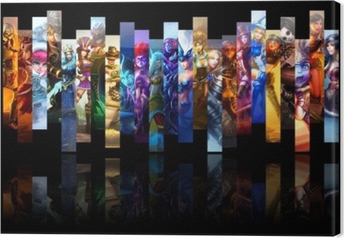 Quadro em Tela League of Legends