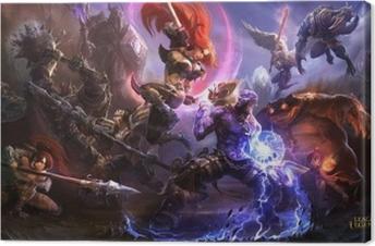 Quadro em Tela League of Legends