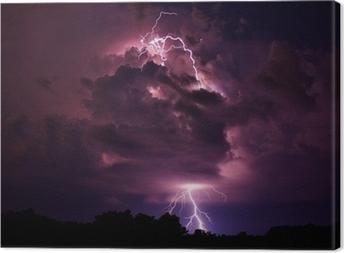 Quadro em Tela Lightning strike