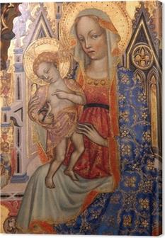 Quadro em Tela Madonna with Child
