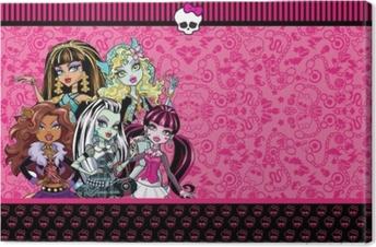 Quadro em Tela Monster High