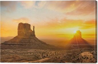Quadro em Tela Monument Valley