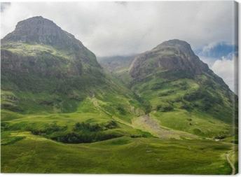 Quadro em Tela Mountain view in Scotland in the Glencoe