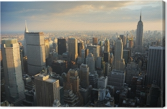 Quadro em Tela NEW YORK CITY SKYLINE