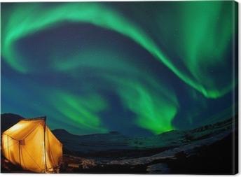 Quadro em Tela Northern lights