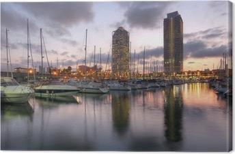 Quadro em Tela Port Olimpic, Barcelona, Spain