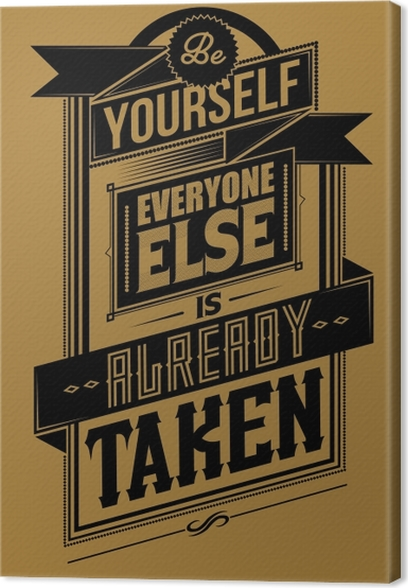 Quadro em Tela Poster inspirador -