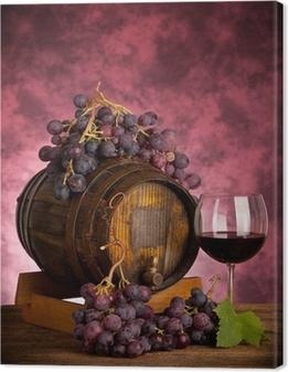 Quadro em Tela Red Wine