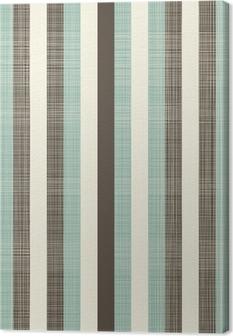 Quadro em Tela retro geometric abstract background with fabric texture