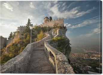 Quadro em Tela Rocca della Guaita, Castle in San Marino
