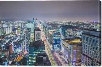 Quadro em Tela Seoul, South Korea Skyline