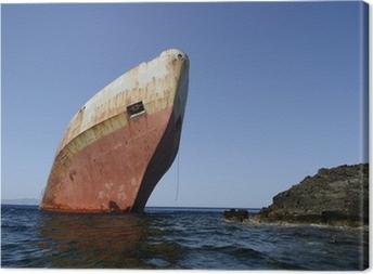 Quadro em Tela shipwreck