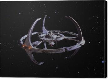 Quadro em Tela Star Trek