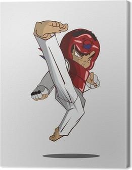 Quadro em Tela taekwondo martial art