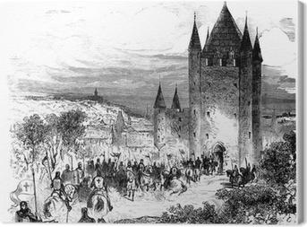 Quadro em Tela Templars - Templiers