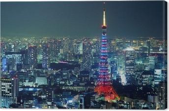 Quadro em Tela Tokyo city