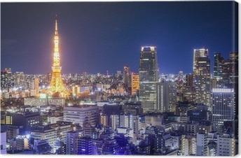 Quadro em Tela Tokyo, Japan Skyline
