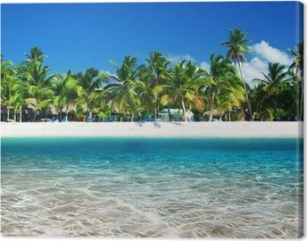 Quadro em Tela tropical beach