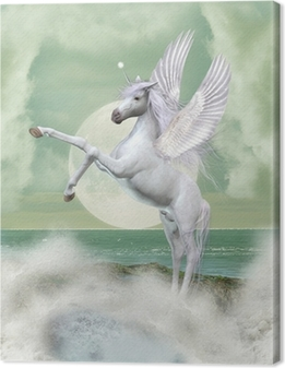 Quadro em Tela unicorn