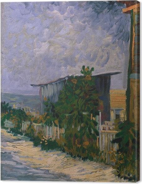 Quadro em Tela Vincent van Gogh - Abrigo em Montmartre - Reproductions