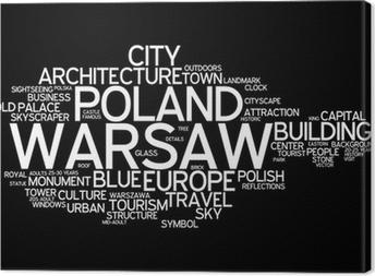 Quadro em Tela Warsaw