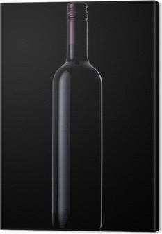Quadro em Tela Wine Bottle