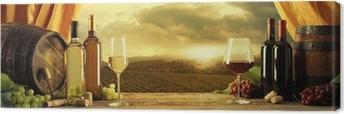 Quadro em Tela Wine