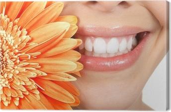 Quadro em Tela Woman teeth