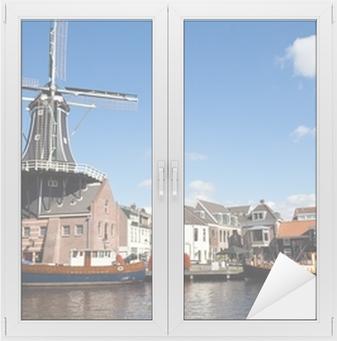 Raamsticker Haarlem - Nederland