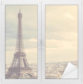 Raamsticker Tour Eiffel in Parijs
