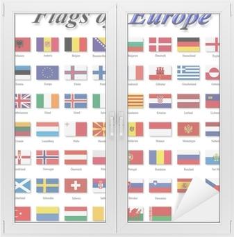 Verrassend Fotobehang Vlaggen van Europa • Pixers® - We leven om te veranderen PJ-48
