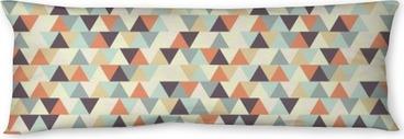Relaxační polštář Bezešvé geometrický vzor.