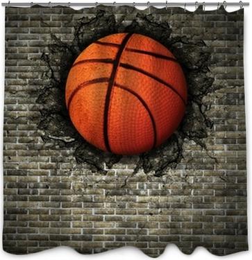 """""""basketball Rideau de douche"""
