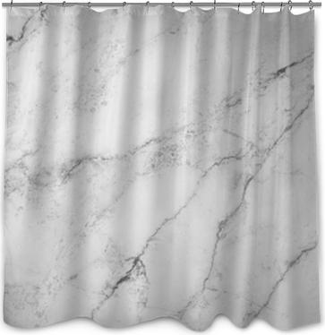 Fond blanc de texture de pierre de marbre Rideau de Douche