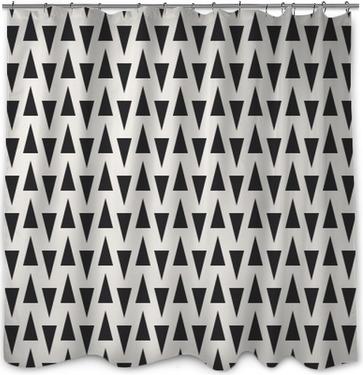 Seamless géométrique. Rideau de douche